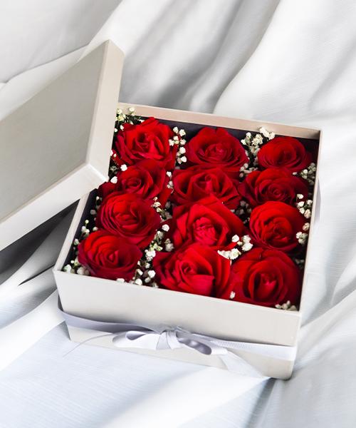กล่องดอกไม้วันวาเลนไทน์